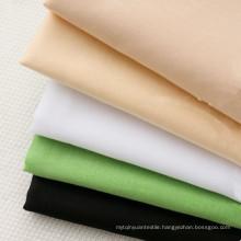 Soft Plain Cotton Poplin Fabric Lining Fabric