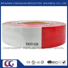 DOT-C2 autoadesivo limpar fita reflexiva para veículos (C5700-B(D))
