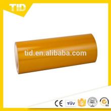 Cobertura reflexiva amarela, categoria da propaganda, filme de superfície do ANIMAL DE ESTIMAÇÃO, ASTM D4956,3100