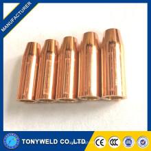 Acessórios de soldagem Tweco Mig CO2 HD24-62 Bocal de serviço pesado