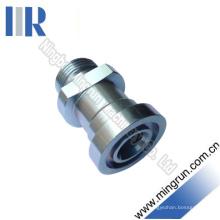 Connecteur de tube d'adaptateur de bride série métrique mâle / série S (1DFS)
