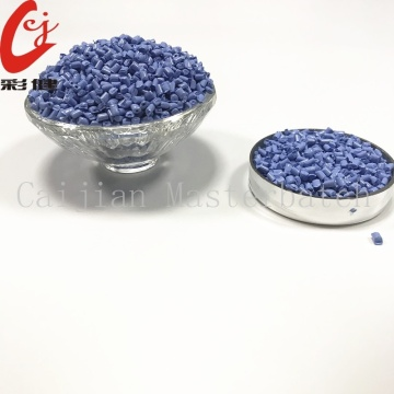 PE Bright Blue Masterbatch Granulat