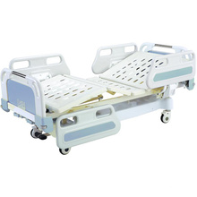 Central Locking Movable Full-Fowler Hospital Bed with ABS Headboards