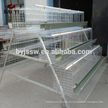A Tipo 4 Cells 4 Tiers 128 Birds Poultry Cage for Egg Chickens
