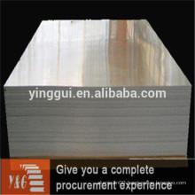 Aluminium plate price per kg sheet metal