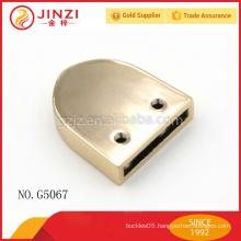 light gold zipper clip for handbags