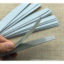 Popular Rectangle Metal Nail File Replaceable sandpaper Nail file