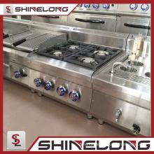 Furnotel 600 Series Qualitätsgarantie Kochgeräte Gasherd mit 4 Kochstellen