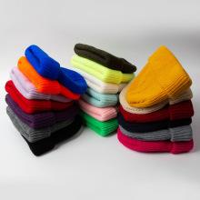 Sombrero de suéter de invierno cálido para hombres gorro de punto