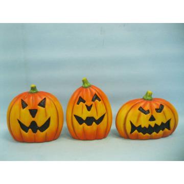 Abóbora de Halloween cerâmica artes e ofícios (LOE2375-A14)