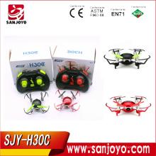 Новый товар H30C мини quadcopter Дрон с 2-мегапиксельной камерой Безголовый режим мини RC горючего ПК отель huajun w606-3 SJY-товар H30C