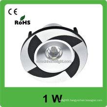 High power 1w AC 85v-265v round ceiling light fixtures china