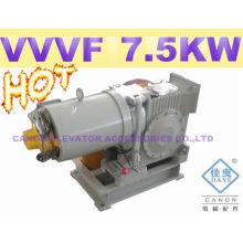 Motor de elevador YJF140WL-VVVF com pés de lado