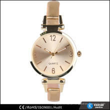 pu leather watch gold, watch strap