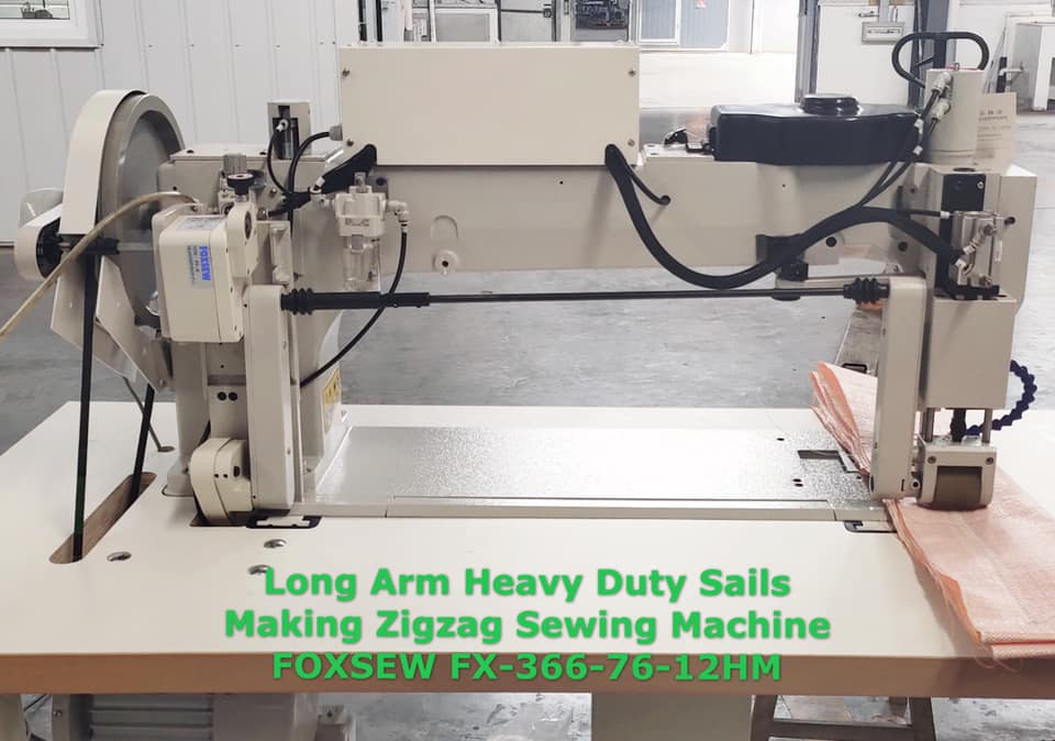 Long Arm Heavy Duty Sails Making Zigzag Sewing Machine -2