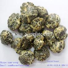 Gesundheit guter Geschmack schwarzes Sesam beschichtete Erdnüsse