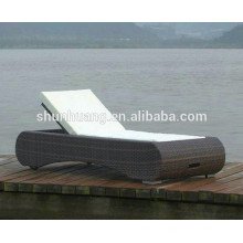 Outdoor lounge chaise