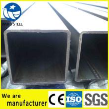 Section creuse carrée GB / T6728 Tuyau d'acier SS400