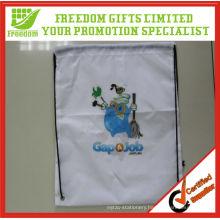 Most Popular Best Selling Promotional Polyester Sublimation Drawstring Bag