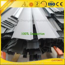 Perfil de alumínio revestido da extrusão do pó para o obturador / grelhas exteriores