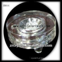 base de cristal de alta qualidade