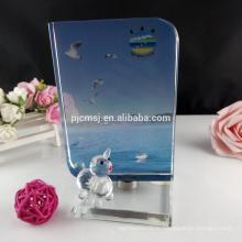 Вращающийся кристалл фото рамка для украшения дома и офиса