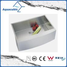 Роскошные Встройной одной миски из нержавеющей стали Кухонная раковина (ACS3320A1)