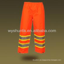 Hi Vis Pantalones reflectantes de seguridad Pantalones