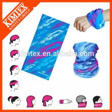 Bandana multifuncional flexível personalizada tubular personalizada