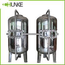Boîtier de filtre mécanique en acier inoxydable Chunke avec sable de quartz