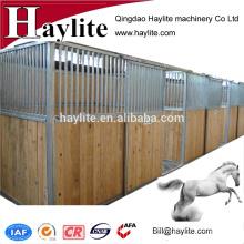 China Caballo de acero interior estable con puerta corredera