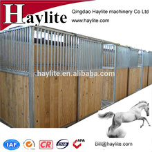 China Indoor steel horse stable with sliding door