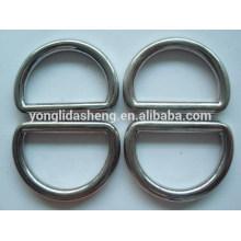 Metal D anel forma bolsas acessórios