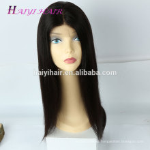 Brazilian human hair cuticle aligned hair full lace wig glueless wig