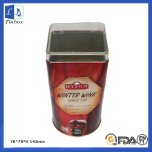 Custom Irregular Metal Tea Tin Box