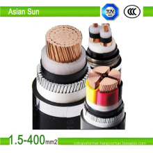 0.6/1kv XLPE Insulated PVC Jacket 25mm2 Power Electrical Cable