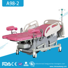 A98-2 Hospital Gynecology Obstetric Ordinary Delivery Parturtion Table