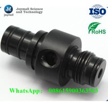 La aleación de aluminio modificada para requisitos particulares a presión el tornillo de la fundición con color negro