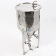 Нержавеющая сталь 20 галлонов Ферментационный бункер