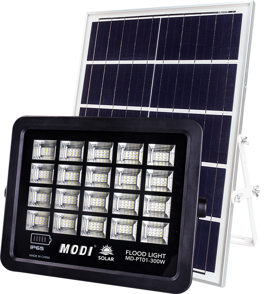 solar spotlight motion detector