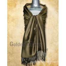 Solid Turkish Viscose Pashmina Shawl