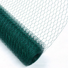 """1"""" Mesh PVC Coated Galvanized Poultry Netting"""