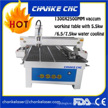 1300X2500mm 5.5kw Wood Acrylic CNC Machinery