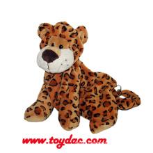 Plush Leopard Infant Backpack