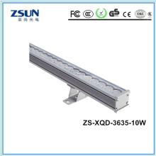 Arruela da parede do diodo emissor de luz do brilho alto RGB / RGBW 36W usada para exterior