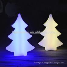 Veilleuse de OEM pour Noël décoration 3d led sapin de Noël nuit lumière extérieur arbre de Noël