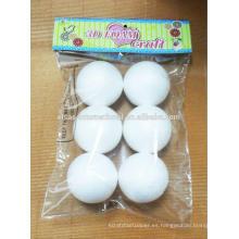 Decoraciones de bolas de espuma de poliestireno / espuma de poliestireno al por mayor