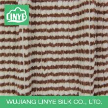 fleece white and tan micofiber corduroy fabric, compound fabric, bathrobe fabric