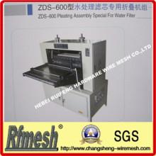 Asamblea especial de plisar para filtro de agua (ZDS-600)