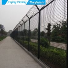 v curves wire mesh fence panels